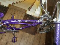 PORATZ CHOPPER BIKE Unusual customised low rider cycle, real eye catcher .single gear, suit teenager