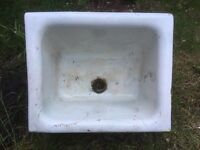 Belfast sink for planting or refurb. Good working order