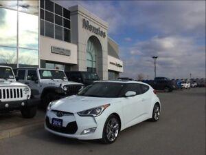 2014 Hyundai Veloster Bluetooth, Navi, ONE OWNER, Clean Carproof