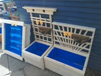 Wooden Planters and Wall Trellises
