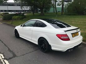 Mercedes-Benz C Class 2.1 C250 CDI BlueEFFICIENCY AMG Sport Edition 125 7G-Tronic Coupe 2dr