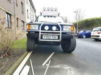 Range rover p38 monster truck.