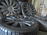 """18"""" rs8 alloys wheels vw golf bora beetle tt audi a3 5x100/112 a3 a4 caddy t4 t3"""