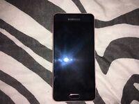 Pink gold Samsung galaxy A3