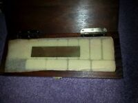 Domino Set and Cribbage Board in box