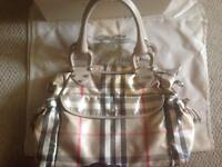 Authentic BURBERRY carryall/diaper bag