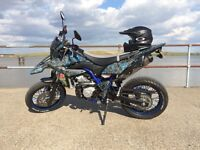 Sale/Swap Yamaha WR125X 2015 Custom Hydrodipped Carbon Fiber & Graphics. 125cc for r1 r6 cbr ktm