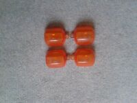 Yamaha Fazer Orange and Clear Indicator Lenses.