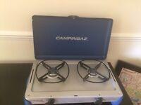 2 portable gas burners