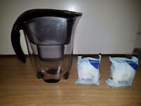 Brita Elemaris Jug & 2X Brand New Filters