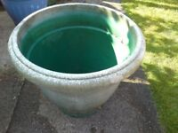 Large Green Plant Container