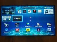 "55 "" Samsung Smart led 3D tv , Voice & Motion ctrl , Ultra Slim design, built in web cam ue55es8000"