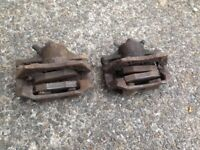 Ford Mondeo Mk3 Pair front calipers carriers pads NO DISCS Zetec-S fast road/track 300mm upgrade