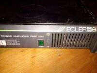 Ecler Amplifier PAM 330