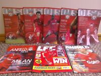 OLSC magazines. Official Liverpool Supporters Club Magazines.