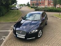 Jaguar XF 2014 2.2 TD Luxury Sportbrake (s/s) 5dr Finance Available