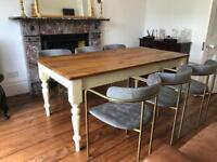 Reclaimed Oak Top Table