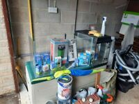 Fish tanks and equipment
