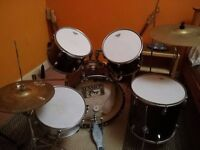 Session Pro Drum Kit and Spare Cymbals - Good Condition
