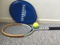 Wilson JR Sport Tennis Racket & cover
