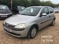 Vauxhall Corsa 1.0 Litre 3 Door Hatch, Full Service History, New MOT, Cheap Insurance, Ideal 1st Car