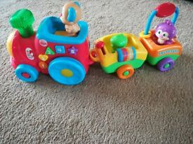 Fisher price musical and light up train