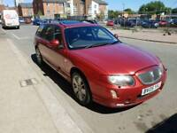 2005 ROVER 75 EXCLSIVE ESTATE CAR WITH THE 2.0 BMW ENGINE MANUAL BOX,