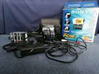 Sony Digital Handycam DRC-PC9E - Boxed and with 4 blank cassettes - perfect condition!!