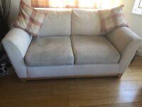 Next cream sofa