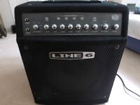 Line 6 LD 150 Bass Guitar Amplifier (150 Watts)