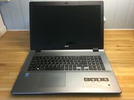 Acer E5-771 - 17 inch Laptop with Box & 17 Inch Laptop Bag
