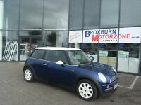 2003 03 MINI HATCH 1.6 COOPER 3d 114 BHP MOT JUNE 2017 **** GUARANTEED FINANCE ****