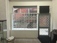Internal, Safety, Collapsable Sliding Window and Door Security Grilles