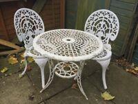 Used garden furniture