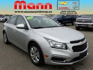 2016 Chevrolet Cruze LT | PST paid, Bluetooth, Rear view camera.