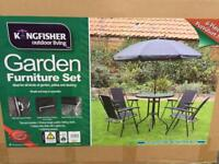 Garden furniture set brand new RRP £120