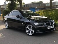 2010 BMW AUTOMATIC 320D COUP**55000 MILES**SAT NAV**LEATHER INTERIOR**