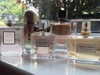 Men and woman perfumes