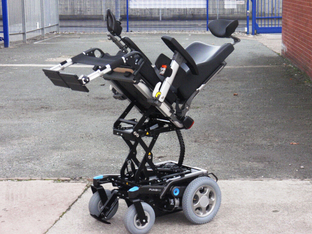 Hi Tech Puma 40. Fully Loaded 6.2mph Version. Electric Power Wheelchair FREE Delivery Mint Condition