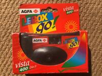 AgfaPhoto LeBox 400 Disposable Camera - Vintage - New - Boxed - (27 Exposures)