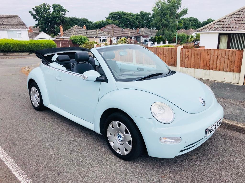 2004 Volkswagen Beetle Cabriolet Convertible 1 6 Petrol 96 000 Miles In Bournemouth Dorset Gumtree