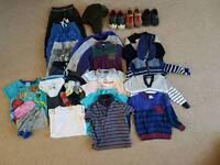 Bundle of Boys Clothes/Shoes to Suit Age 2-3