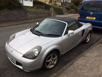 Toyota MR2 - New 12 month MOT - low mileage - only 83230 miles - New clutch