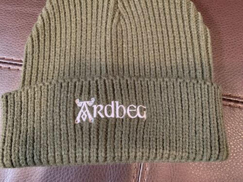 ARDBEG SCOTCH WHISKY OUTDOOR BEANIE HAT ULTRA RARE IMPOSSIBLE TO FIND BRAND NEW