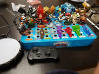 Skylanders trap team figures,traps and portal for tablet