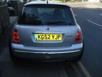 mini in good condition new brake pads and discs new tires all round five months mot