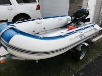 2014 Boat and 8 Hp Mercury Outboard
