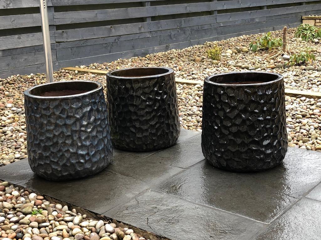 3 Large Plant Pots