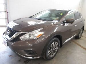 2017 Nissan Murano SL- AWD! BACK-UP CAM! ALLOYS! NAV! LEATHER!