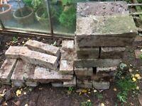 Garden wall building blocks / bricks